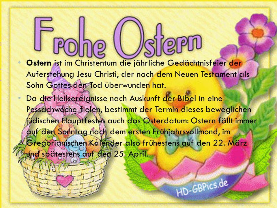 feiern nicht christen ostern