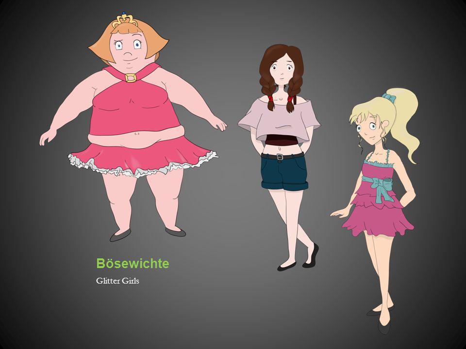Bösewichte Glitter Girls