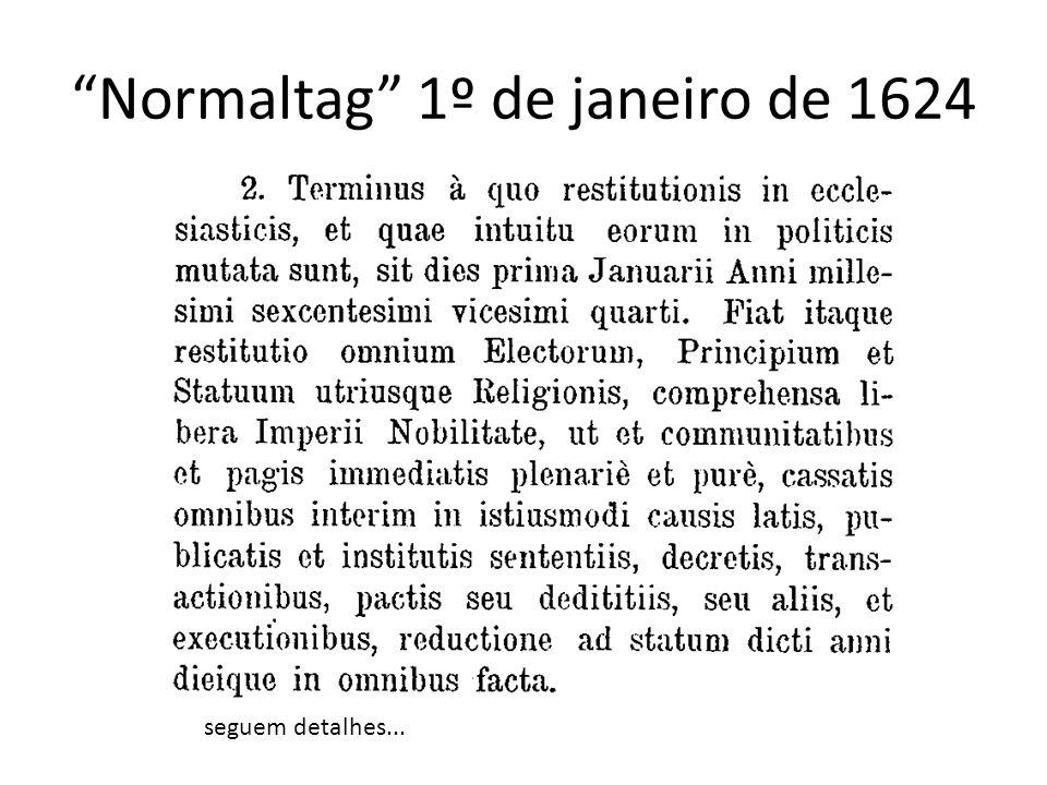 Normaltag 1º de janeiro de 1624