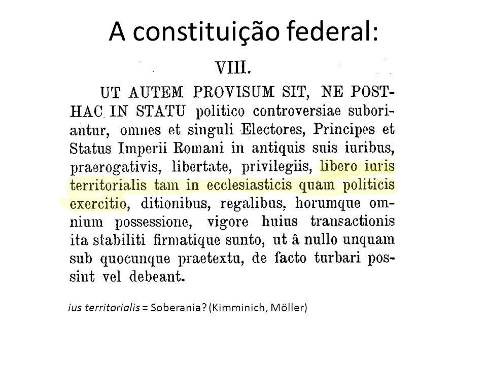 A constituição federal: