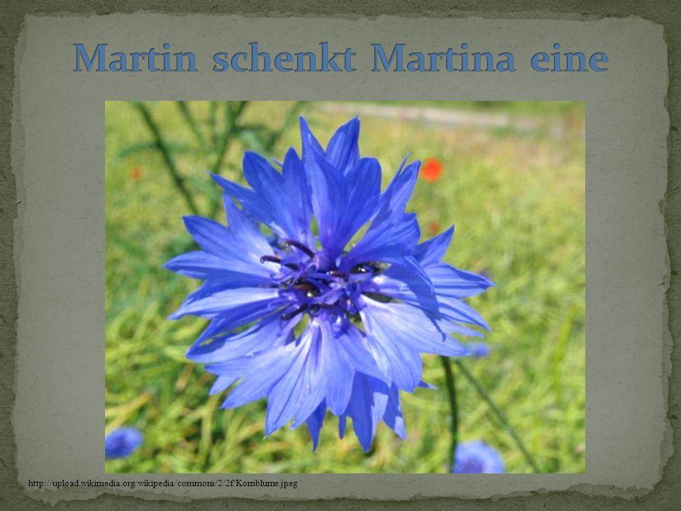 Martin schenkt Martina eine