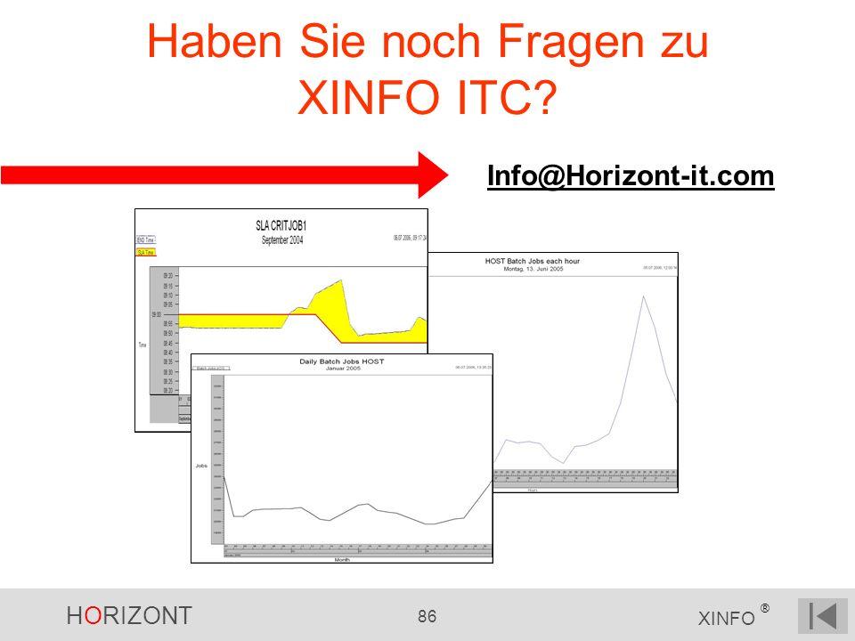 Haben Sie noch Fragen zu XINFO ITC