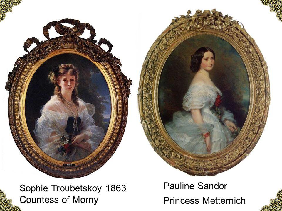 Pauline Sandor Sophie Troubetskoy 1863 Princess Metternich