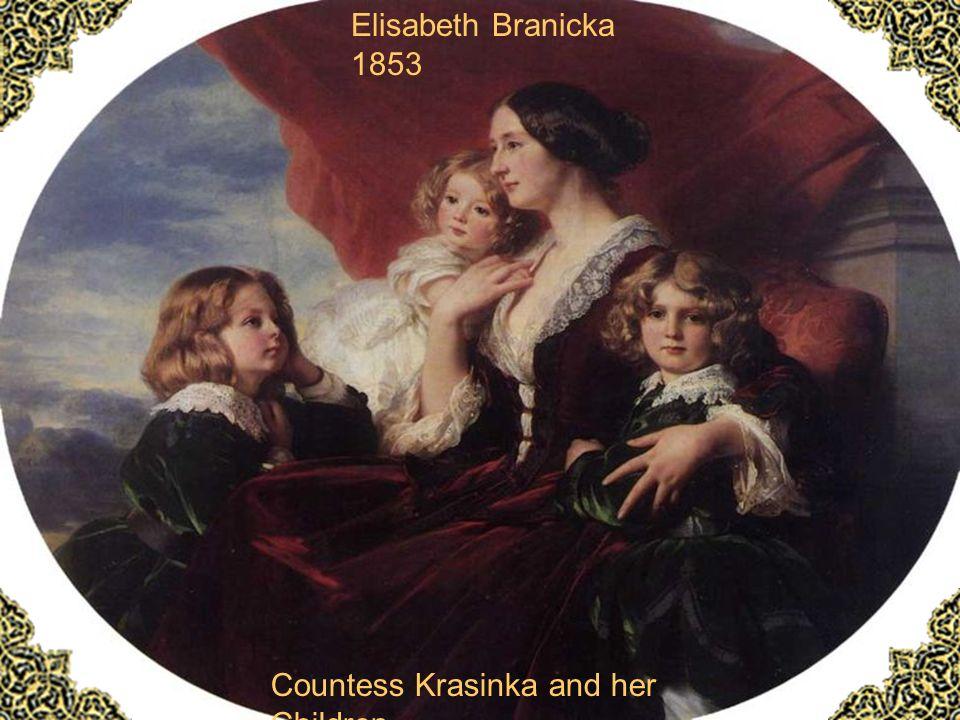Countess Krasinka and her Children