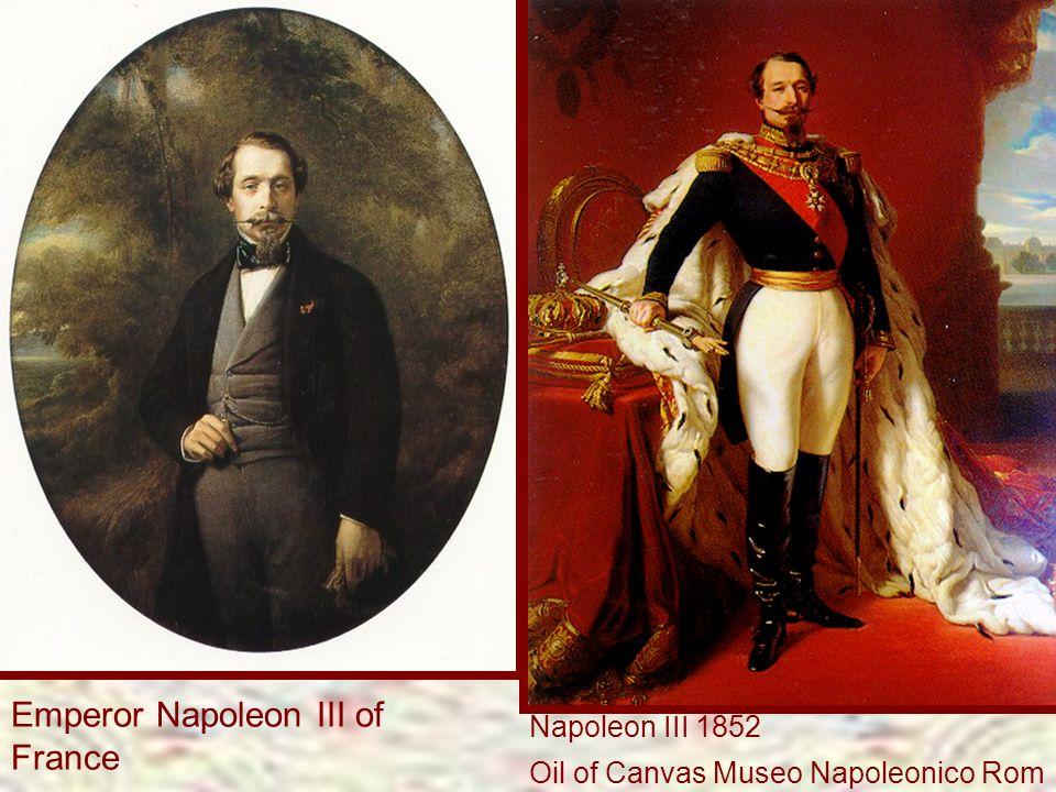 Emperor Napoleon III of France
