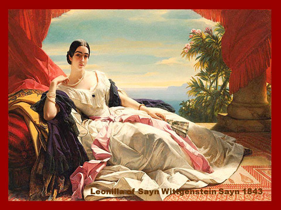 Leonilla of Sayn Wittgenstein Sayn 1843