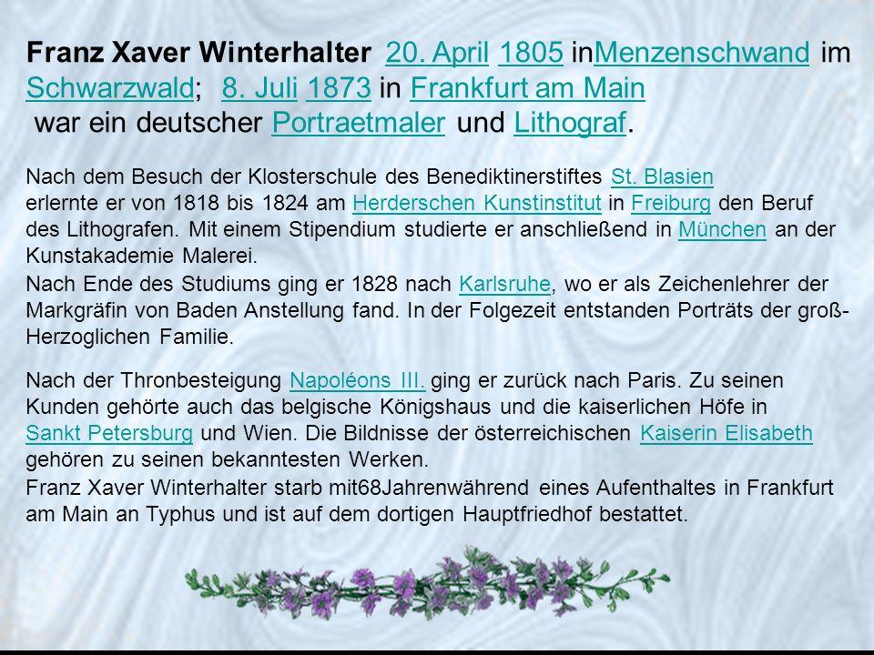 war ein deutscher Portraetmaler und Lithograf.