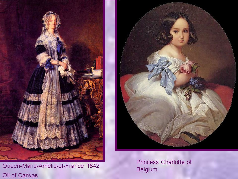 Princess Charlotte of Belgium Queen-Marie-Amelie-of-France 1842