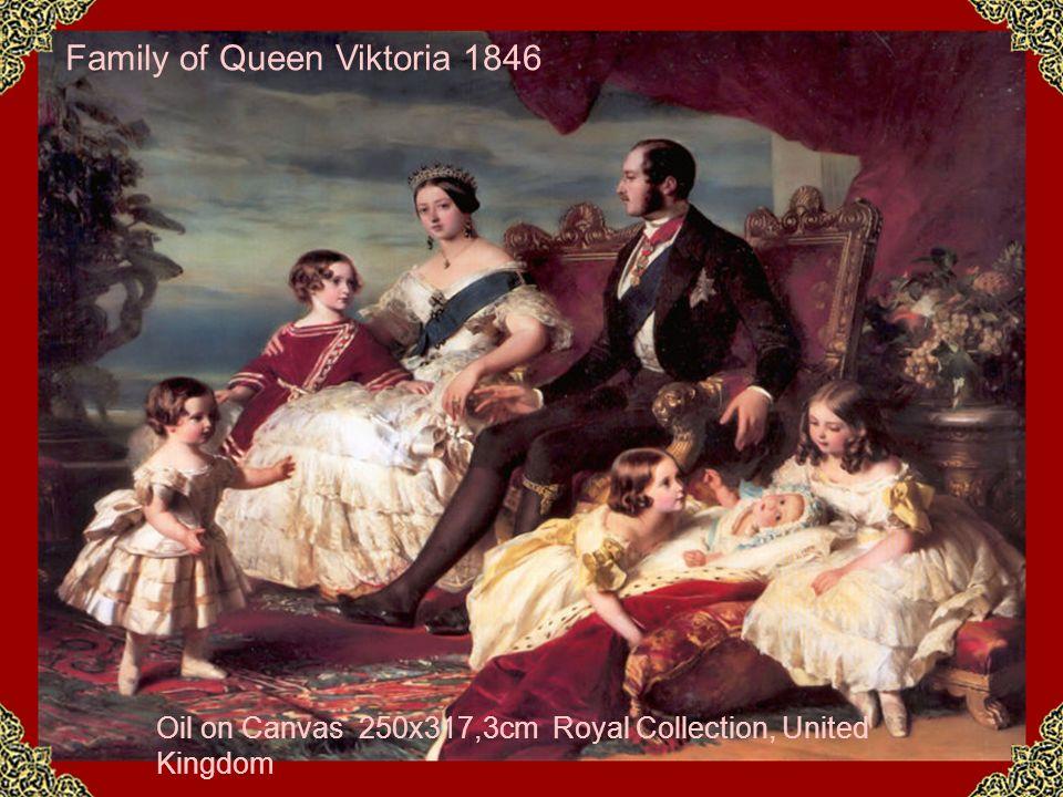 Family of Queen Viktoria 1846