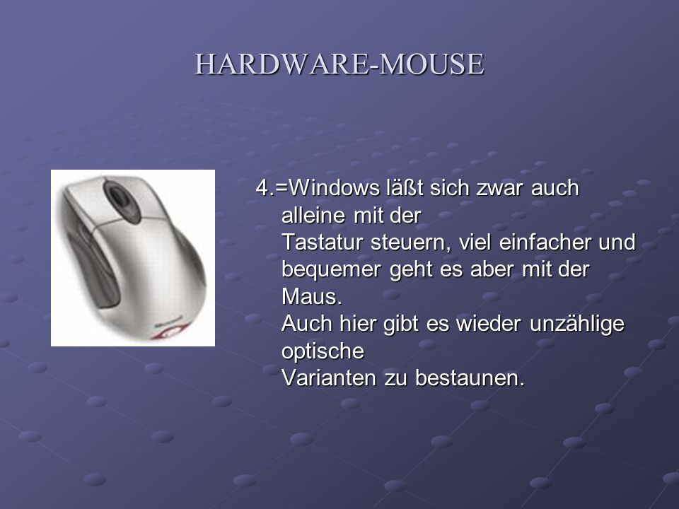 HARDWARE-MOUSE