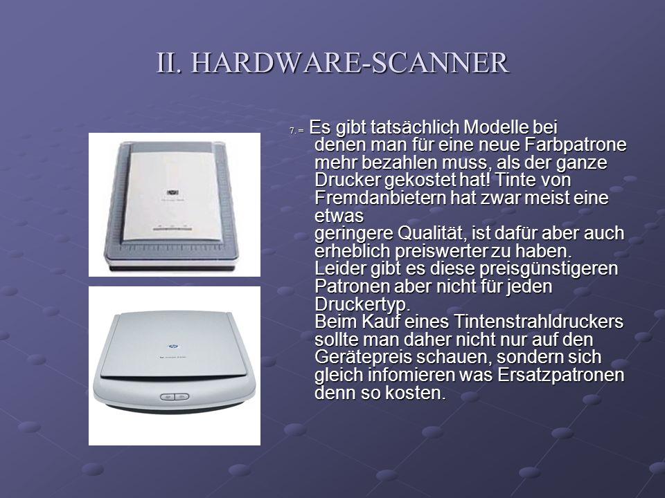 II. HARDWARE-SCANNER