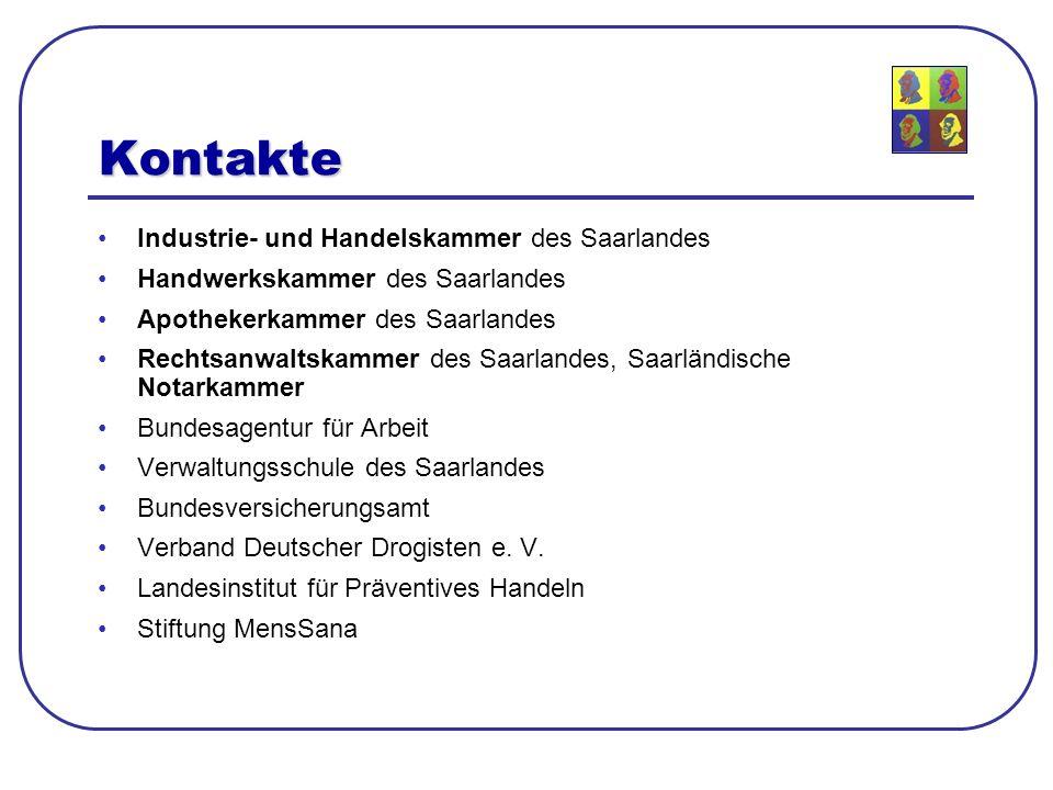 Kontakte Industrie- und Handelskammer des Saarlandes