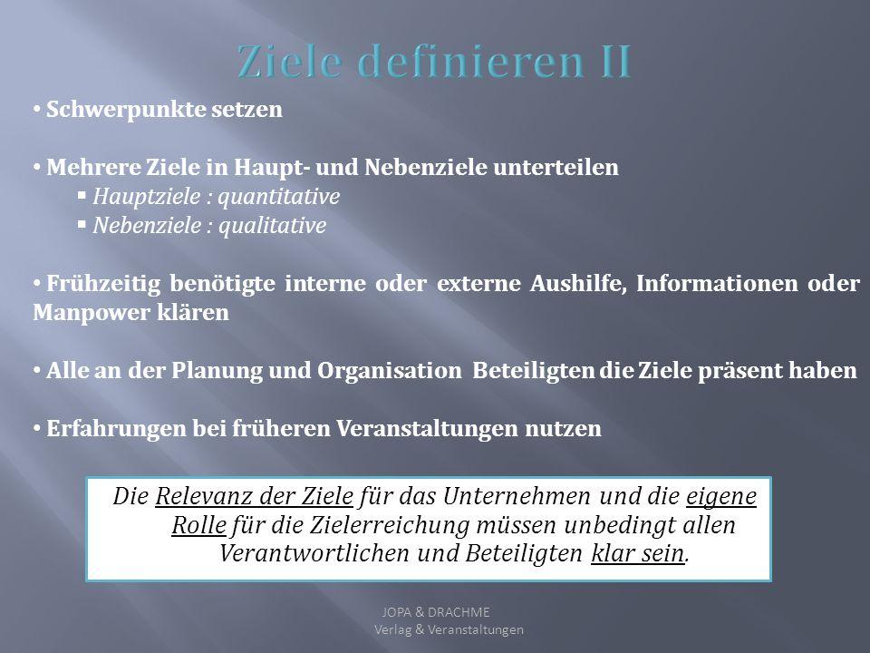 Verlag & Veranstaltungen