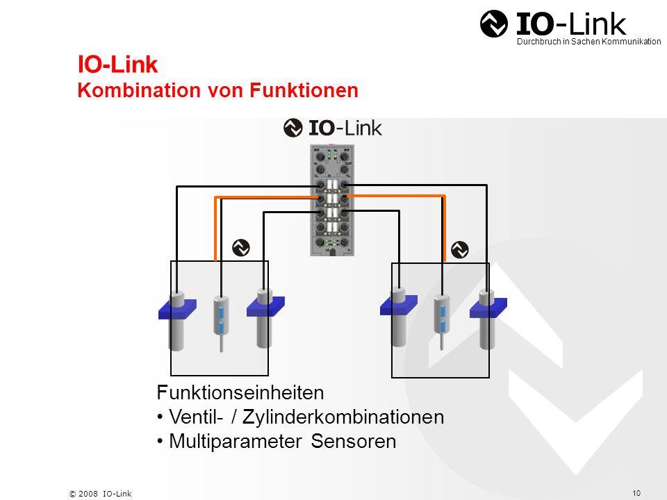 IO-Link Kombination von Funktionen