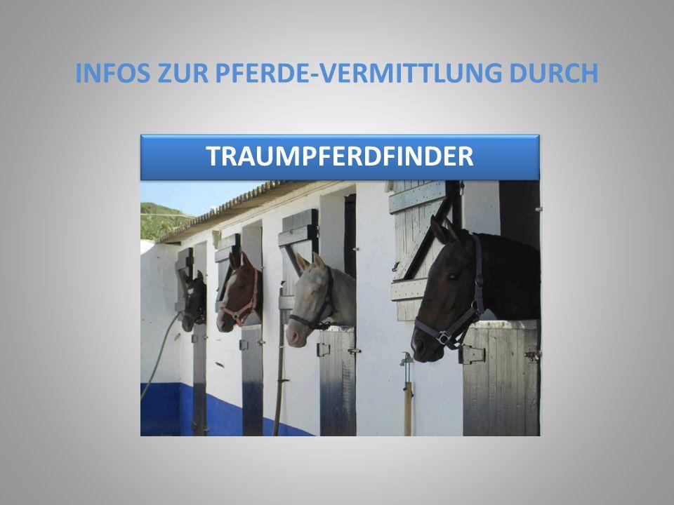 INFOS ZUR PFERDE-VERMITTLUNG DURCH
