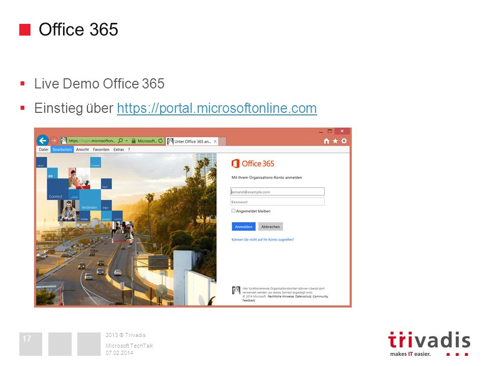 Office 365 Live Demo Office 365