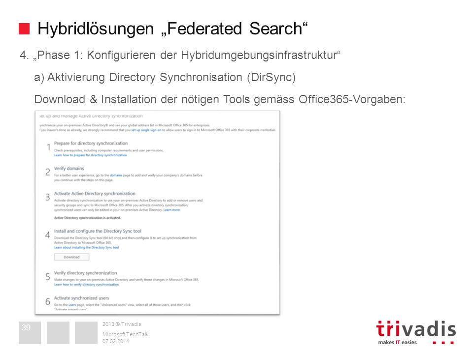 "Hybridlösungen ""Federated Search"