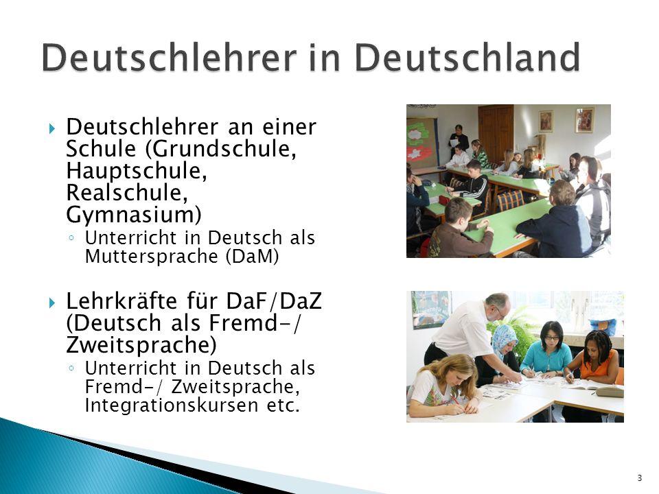 Deutschlehrer in Deutschland