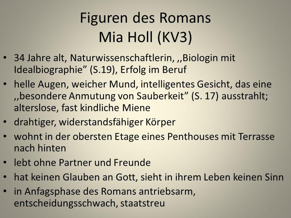 Figuren des Romans Mia Holl (KV3)