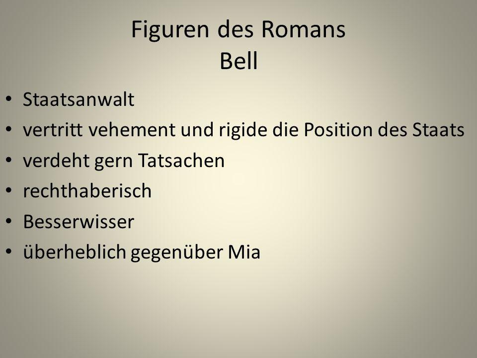 Figuren des Romans Bell
