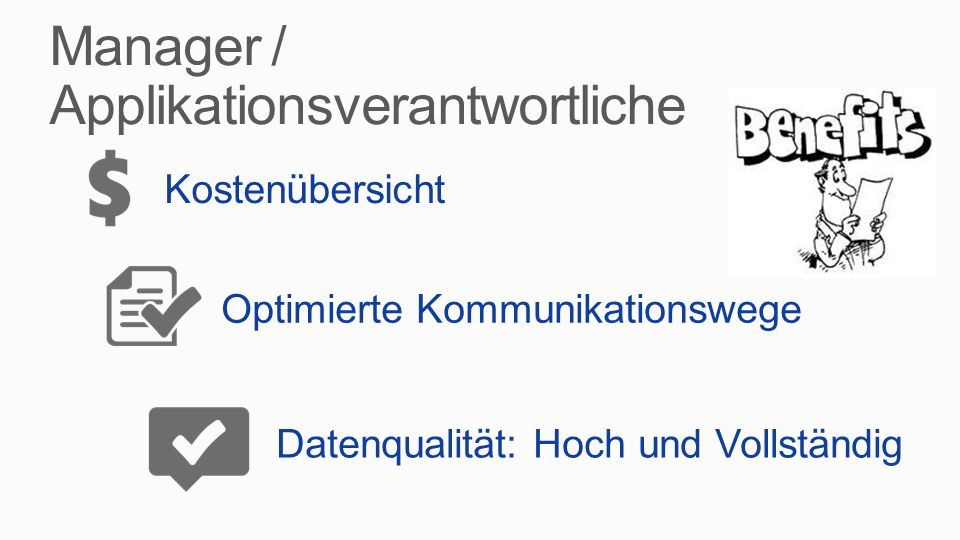 Manager / Applikationsverantwortliche