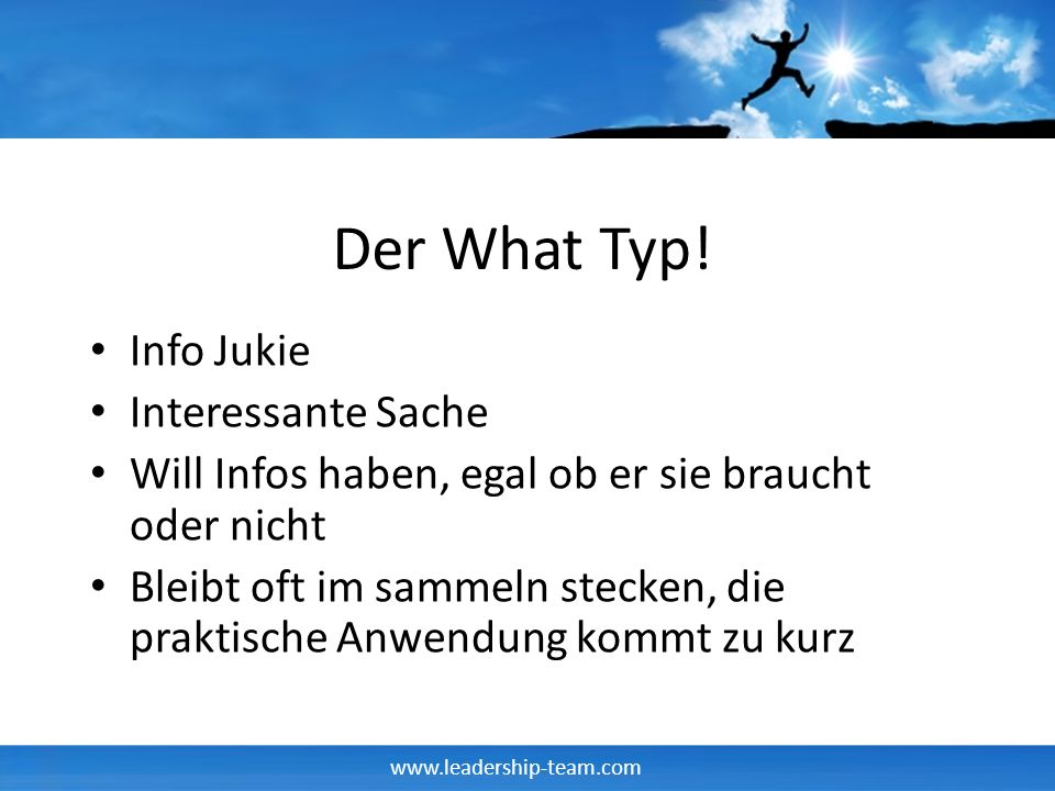 Der What Typ! Info Jukie Interessante Sache