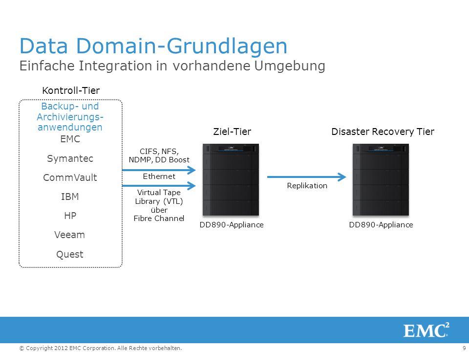 Data Domain-Grundlagen