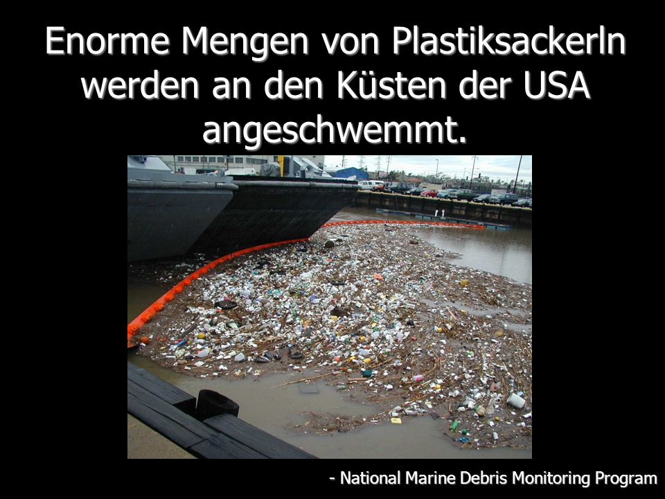 - National Marine Debris Monitoring Program