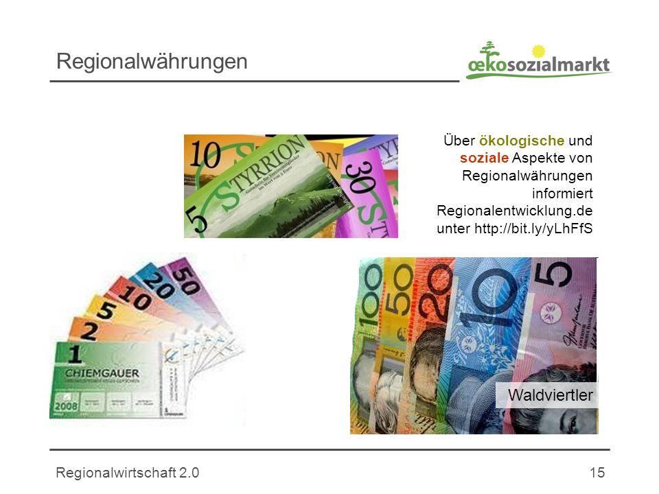 Regionalwährungen Waldviertler
