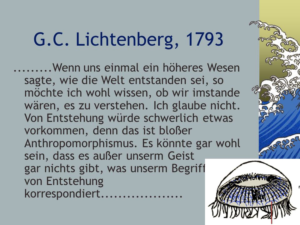 G.C. Lichtenberg, 1793