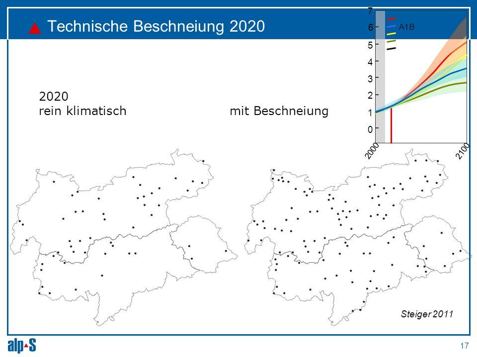 Technische Beschneiung 2020