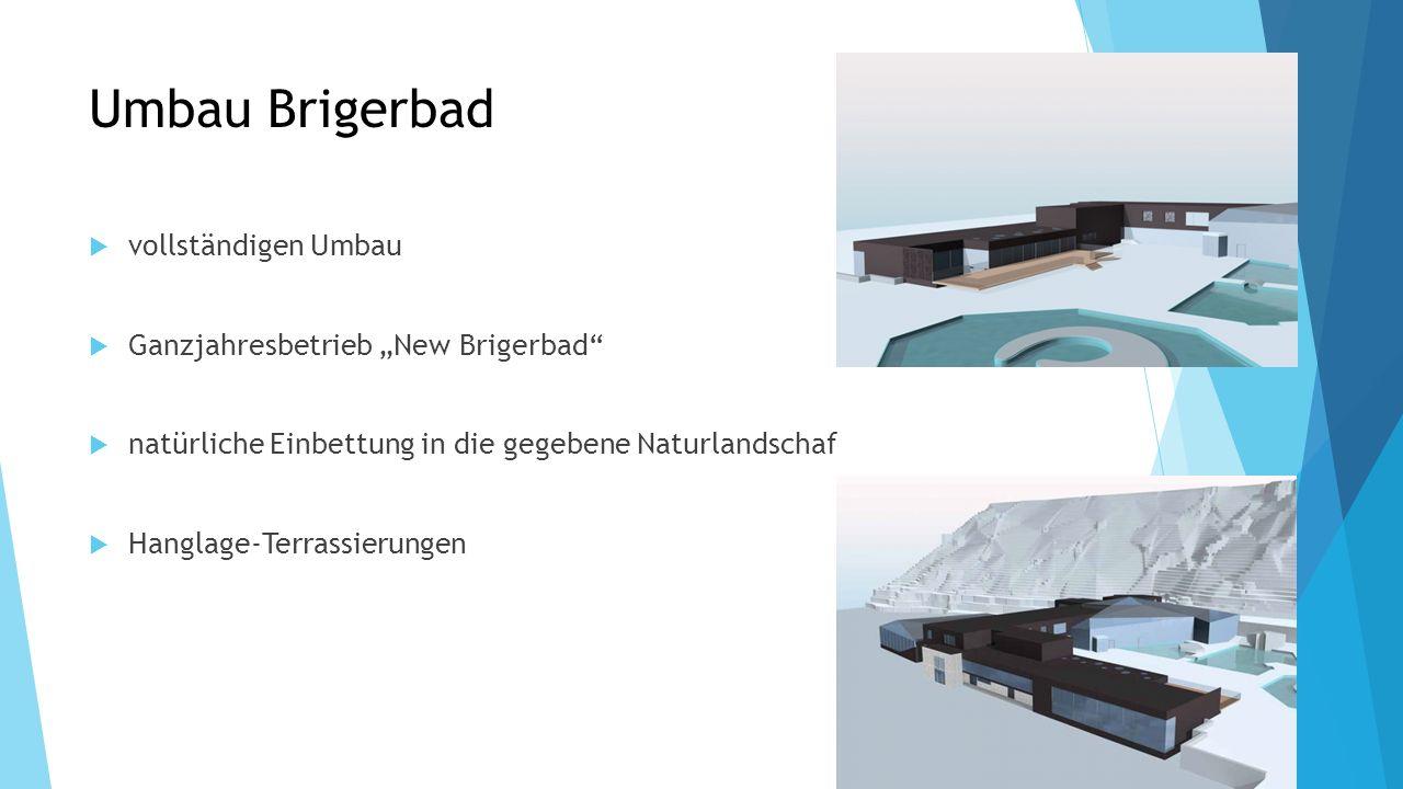 """Umbau Brigerbad vollständigen Umbau Ganzjahresbetrieb """"New Brigerbad"""