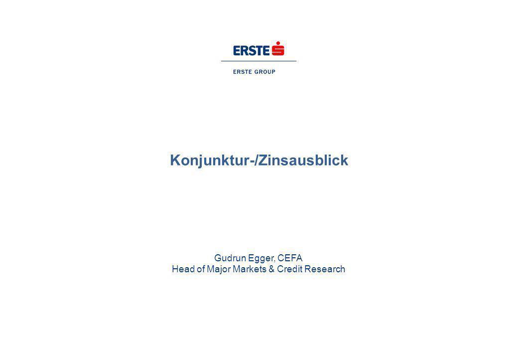 Konjunktur-/Zinsausblick