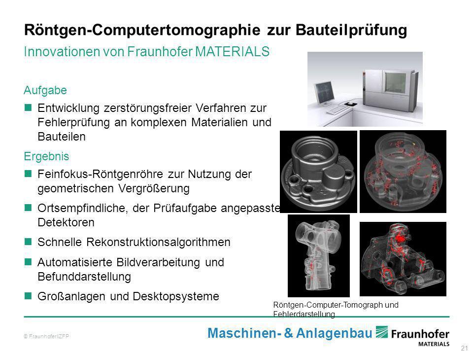 Röntgen-Computertomographie zur Bauteilprüfung