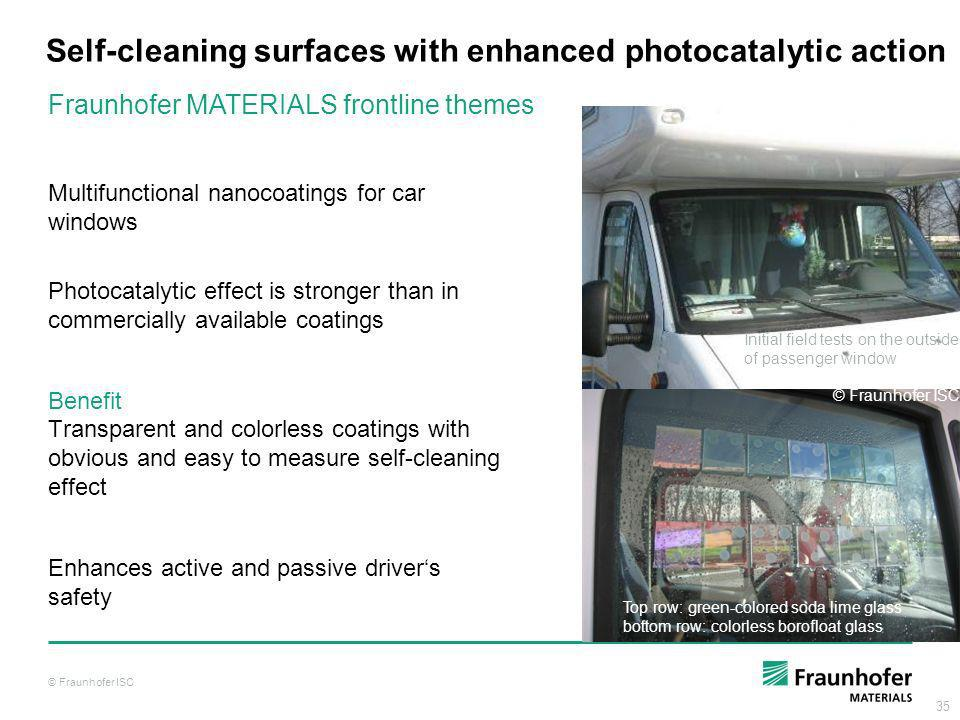 Self-cleaning surfaces with enhanced photocatalytic action