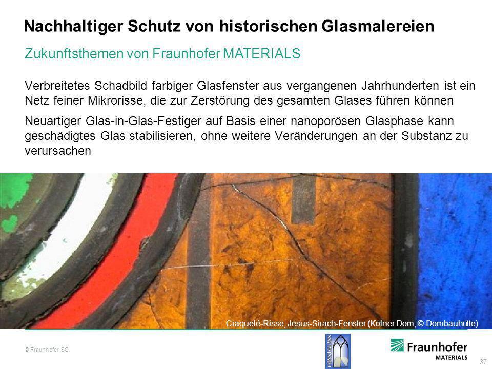 Nachhaltiger Schutz von historischen Glasmalereien