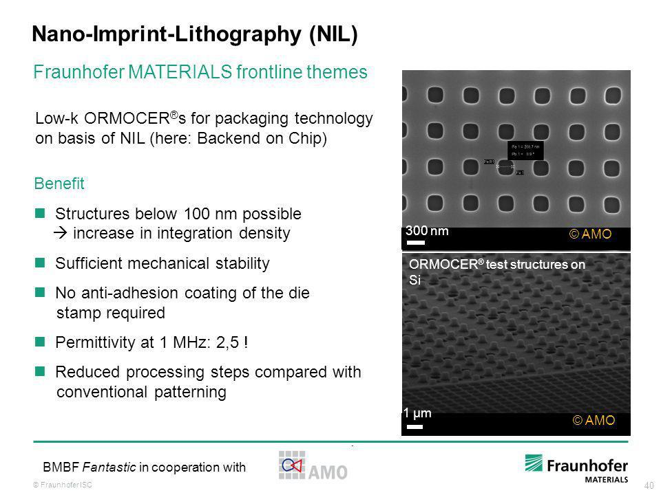 Nano-Imprint-Lithography (NIL)