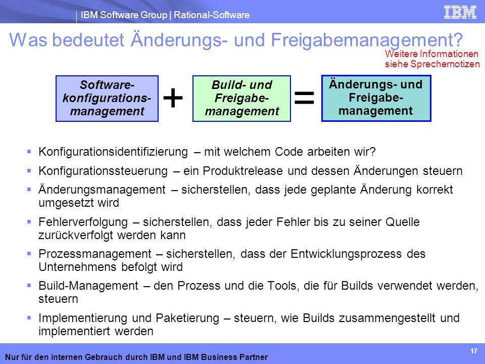 Was bedeutet Änderungs- und Freigabemanagement