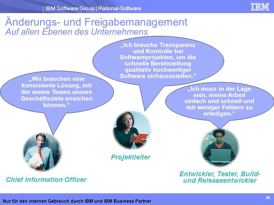 Änderungs- und Freigabemanagement Auf allen Ebenen des Unternehmens