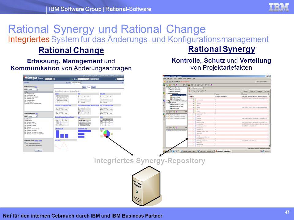 Rational Synergy und Rational Change Integriertes System für das Änderungs- und Konfigurationsmanagement