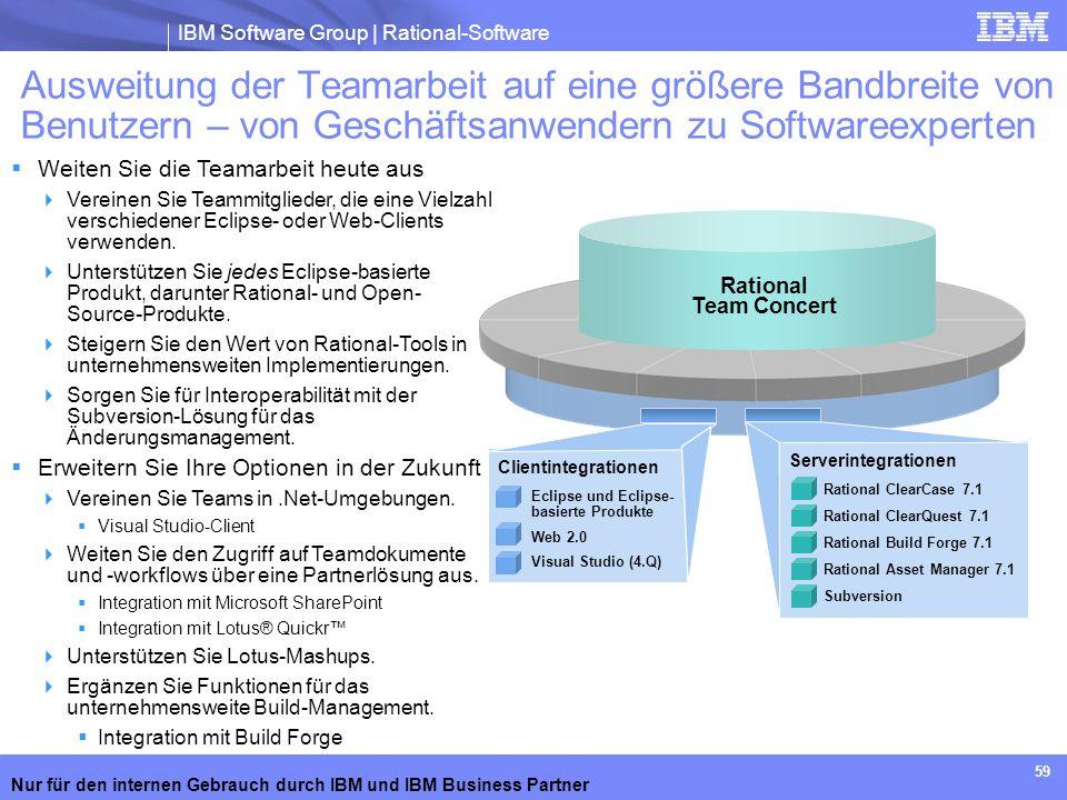 Ausweitung der Teamarbeit auf eine größere Bandbreite von Benutzern – von Geschäftsanwendern zu Softwareexperten