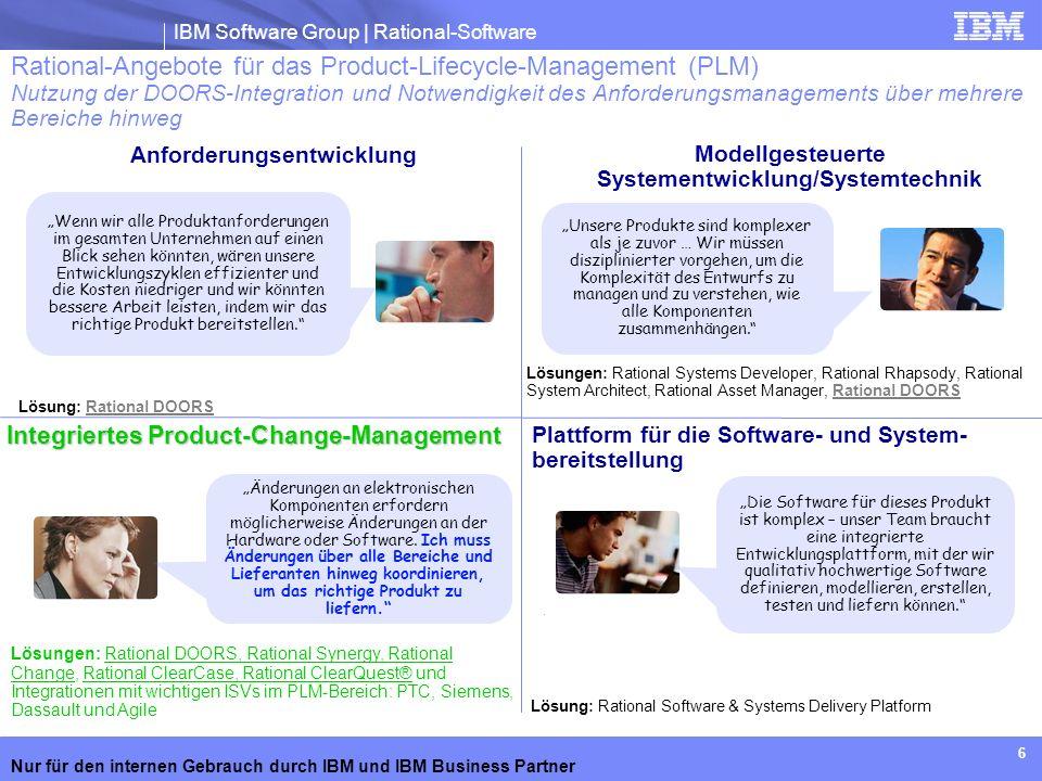 Modellgesteuerte Systementwicklung/Systemtechnik