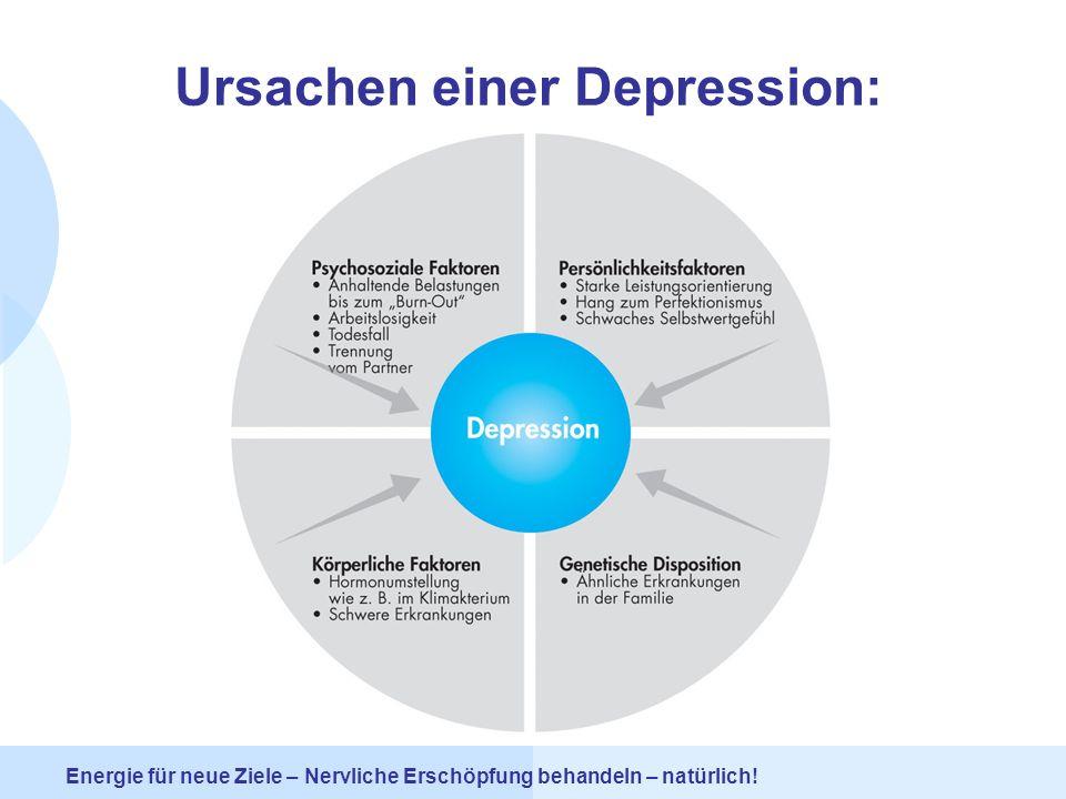 Ursachen einer Depression: