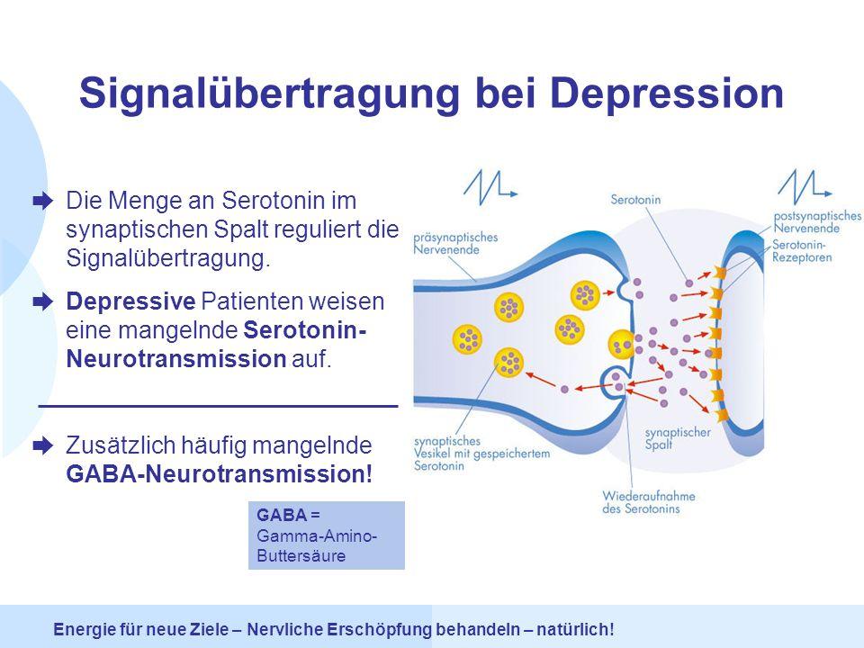 Signalübertragung bei Depression