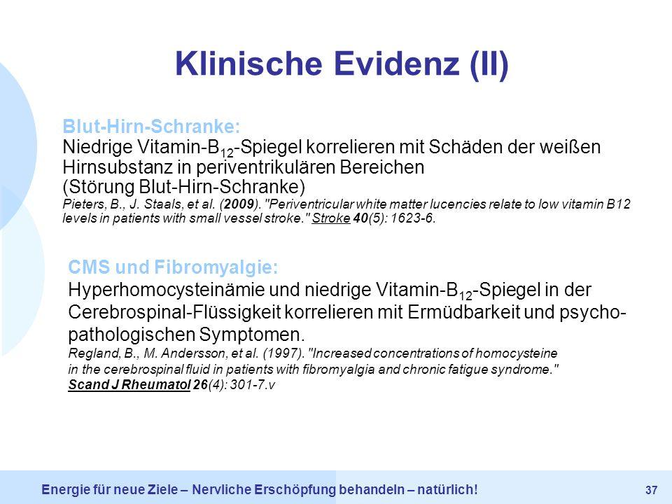 Klinische Evidenz (II)