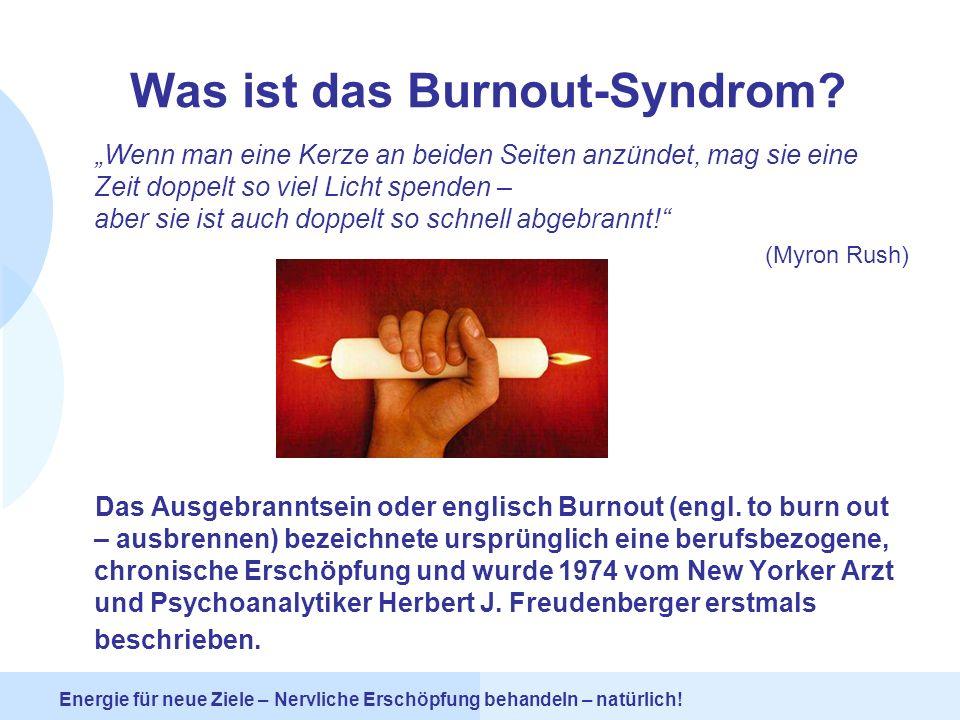 Was ist das Burnout-Syndrom