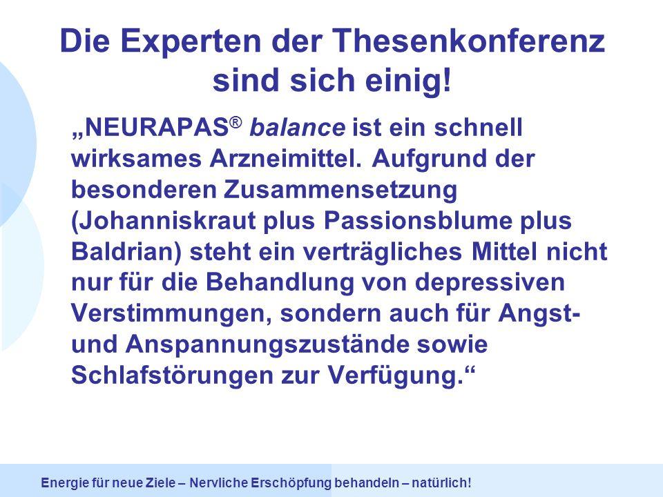 Die Experten der Thesenkonferenz sind sich einig!