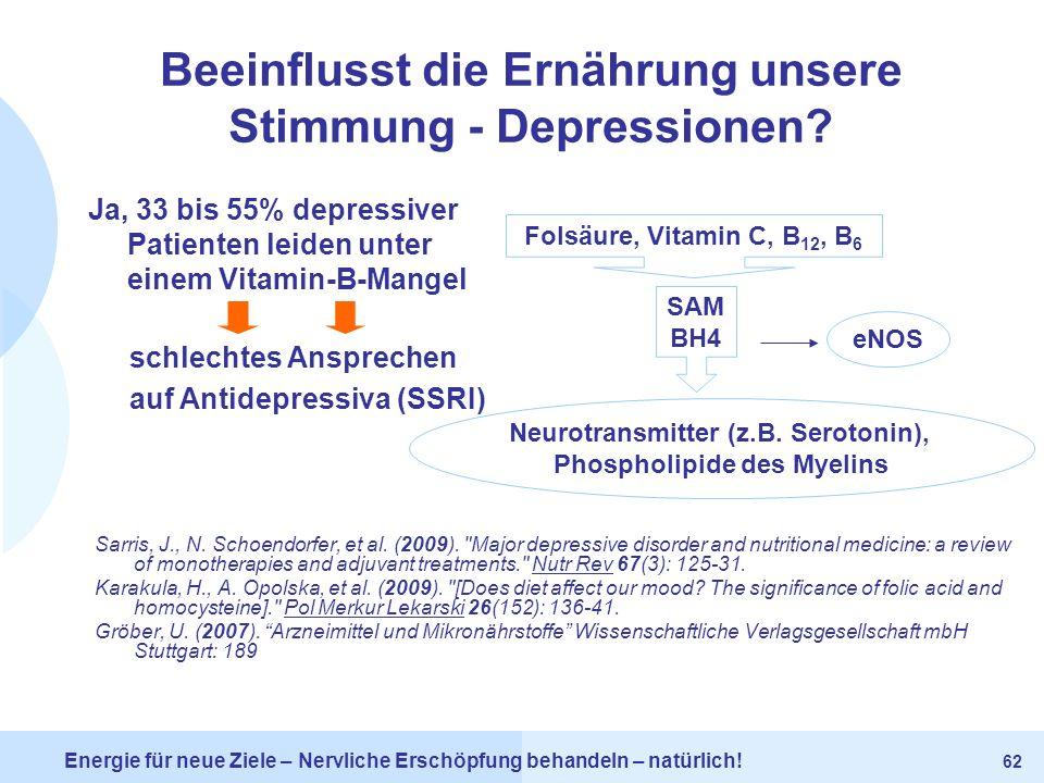 Beeinflusst die Ernährung unsere Stimmung - Depressionen