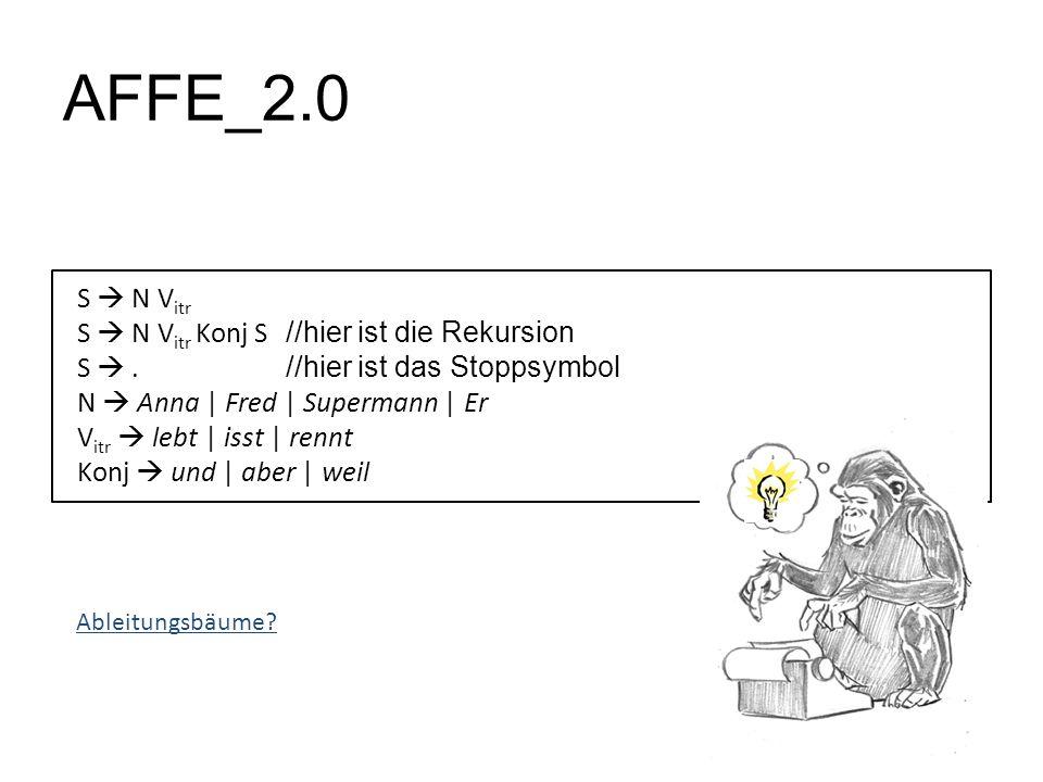 AFFE_2.0 S  N Vitr S  N Vitr Konj S //hier ist die Rekursion