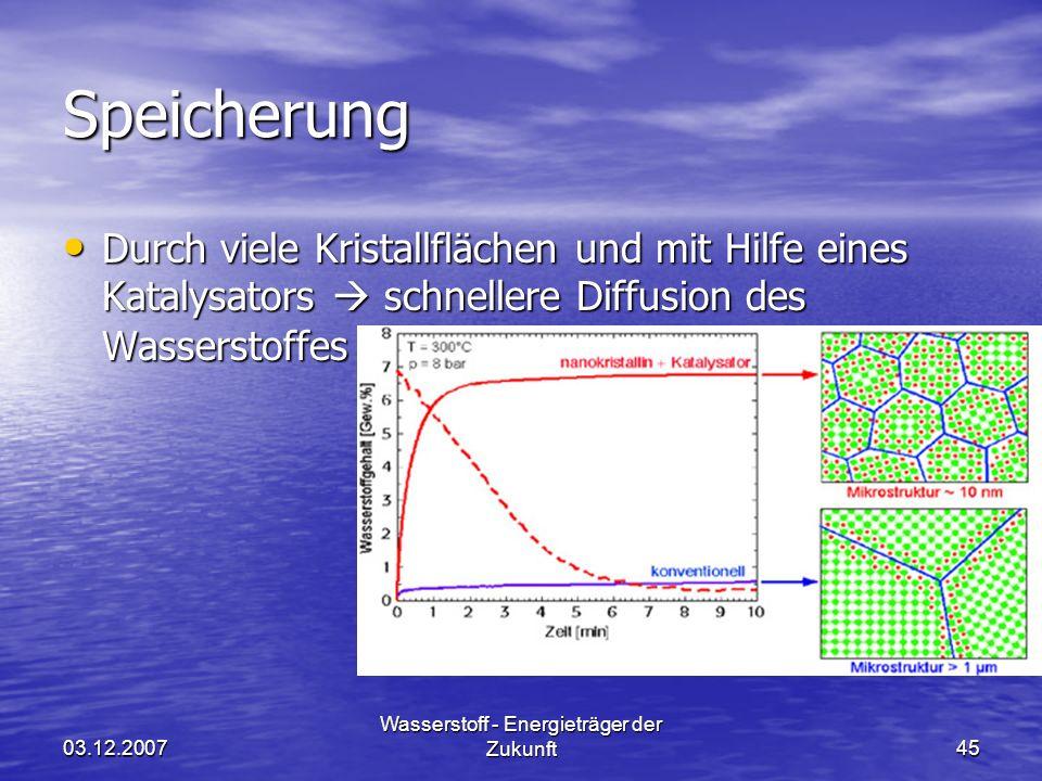 Wasserstoff - Energieträger der Zukunft